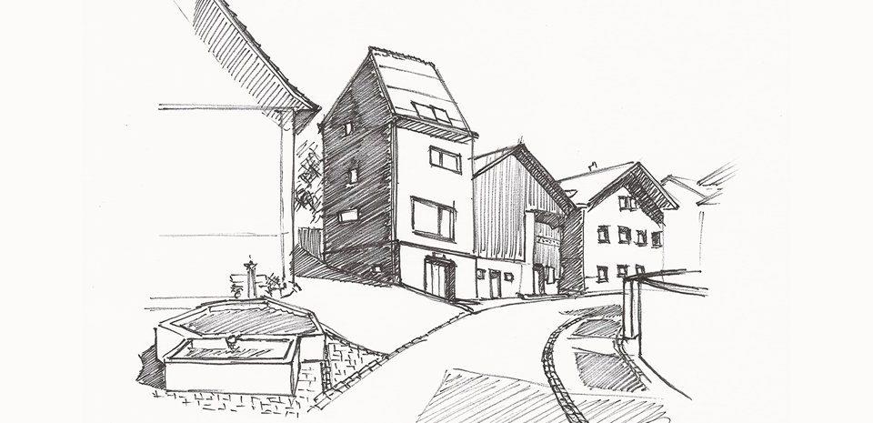Haus im Dorfkern